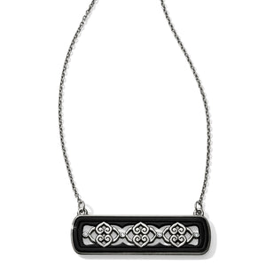 Intrigue Bar Reversible Necklace