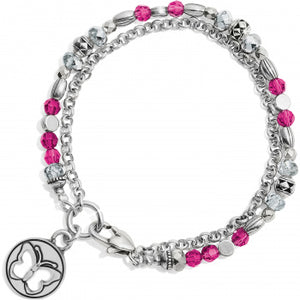 Gleam On Butterfly Bracelet