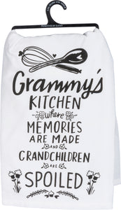 Grammy's Kitchen Where Memories Are Made Dish Towel