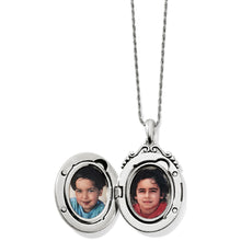 Load image into Gallery viewer, Etoile Oval Convertible Locket Necklace