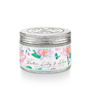 Water Lily and Aloe Tin Candle - Small
