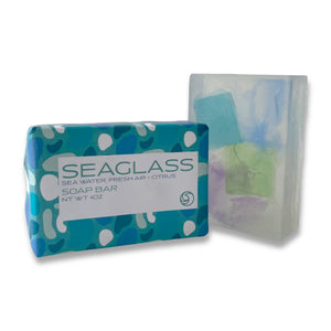 SEAGLASS Scrub Soap Bar