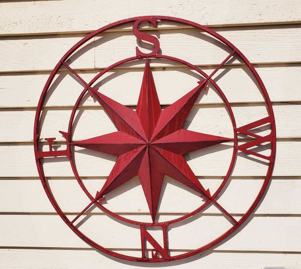 Iron Compass Rose