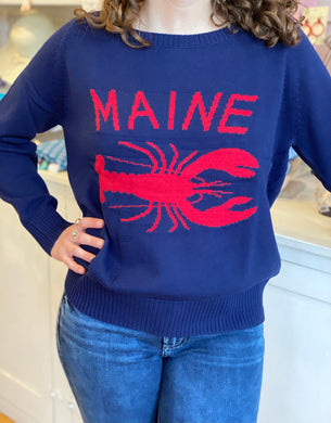 Maine Lobster Sweater