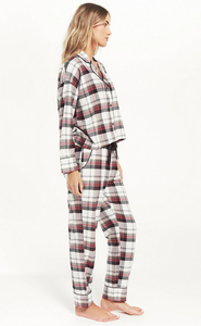 Dream State Plaid PJ Set