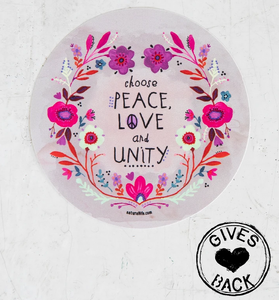 Choose Love Vinyl Sticker