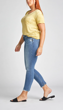 Load image into Gallery viewer, Avery High-Rise Curvy Slim Leg Jeans