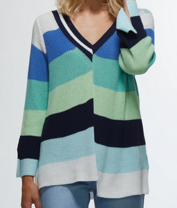 Colour Stripe Sweater