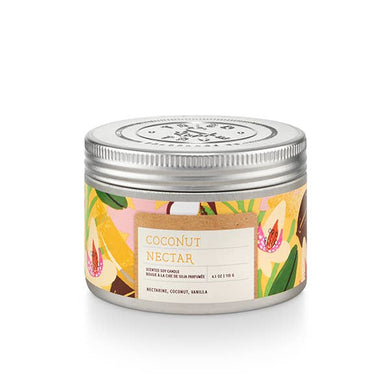 Coconut Nectar Tin Candle - Small