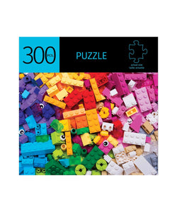 Building Block Design 300 Piece Puzzle