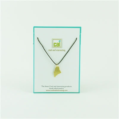 Maine Gold Cord Necklace