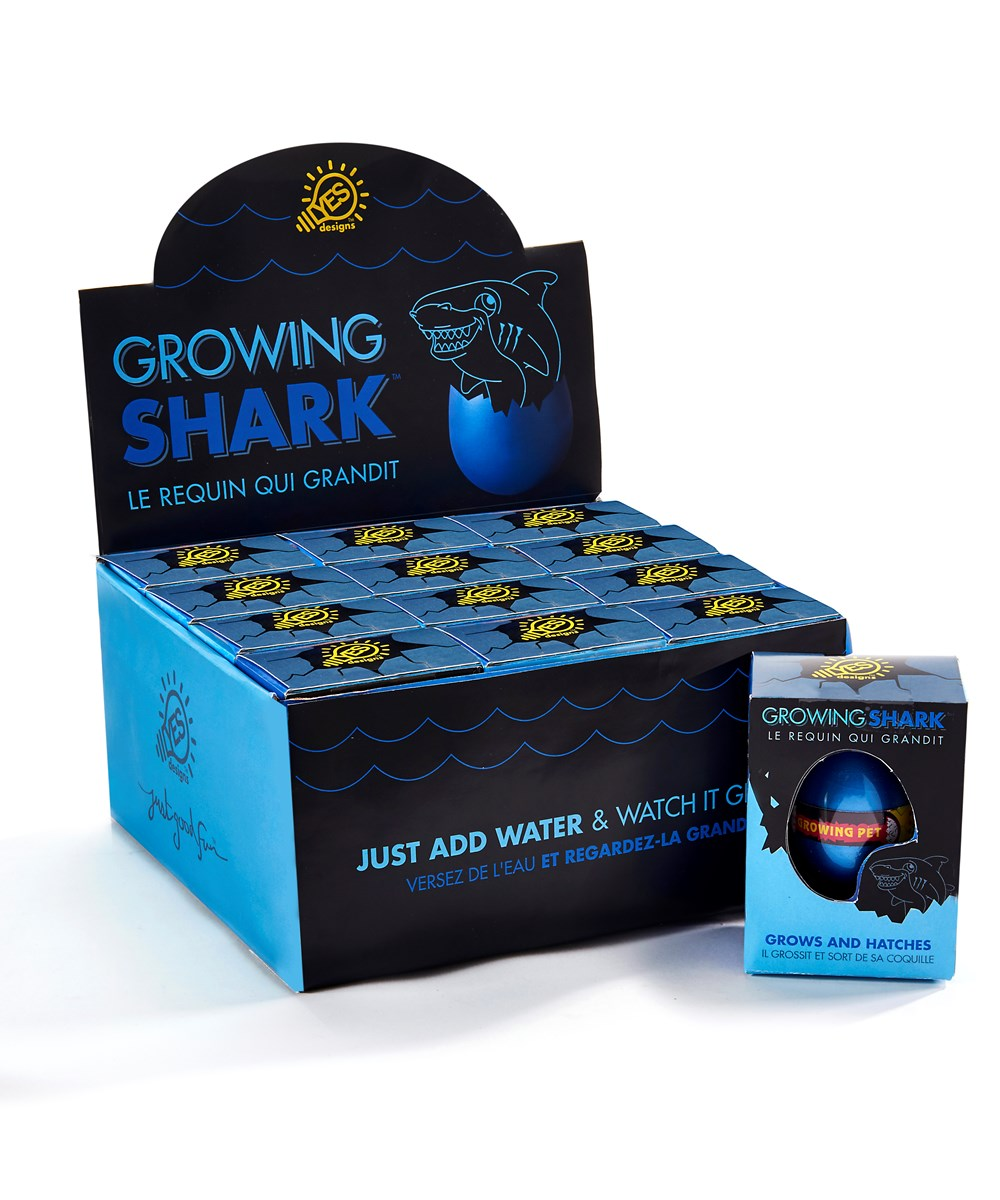 Growing Shark Hatch'em Egg