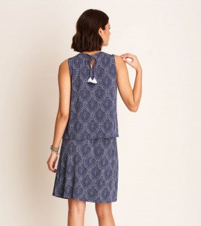 Roberta dress-scallop