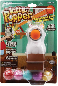 Hog Wild Kitty Popper Toy