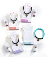Load image into Gallery viewer, Lava Stone Bracelet With Essential Oil