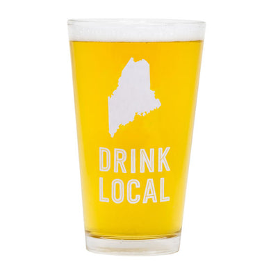 Maine Pint Glass - Daisy Trading Company