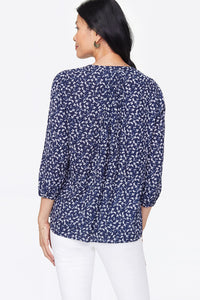 Evening Dits Pintuck Blouse