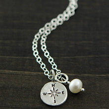 Load image into Gallery viewer, Life is a Journey Best Traveled with Friends Necklace
