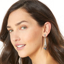 Load image into Gallery viewer, Elora Gems Post Drop Earrings
