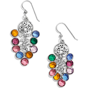 Elora Gems Cascade French Wire Earrings