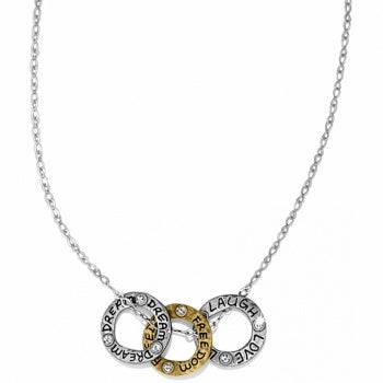 Art & Soul Three Rings Necklace