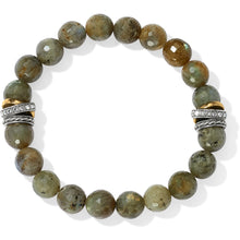 Load image into Gallery viewer, Neptune's Rings Labradorite Stretch Bracelet