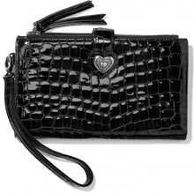 Load image into Gallery viewer, Bellissimo Heart Double Zip Wallet