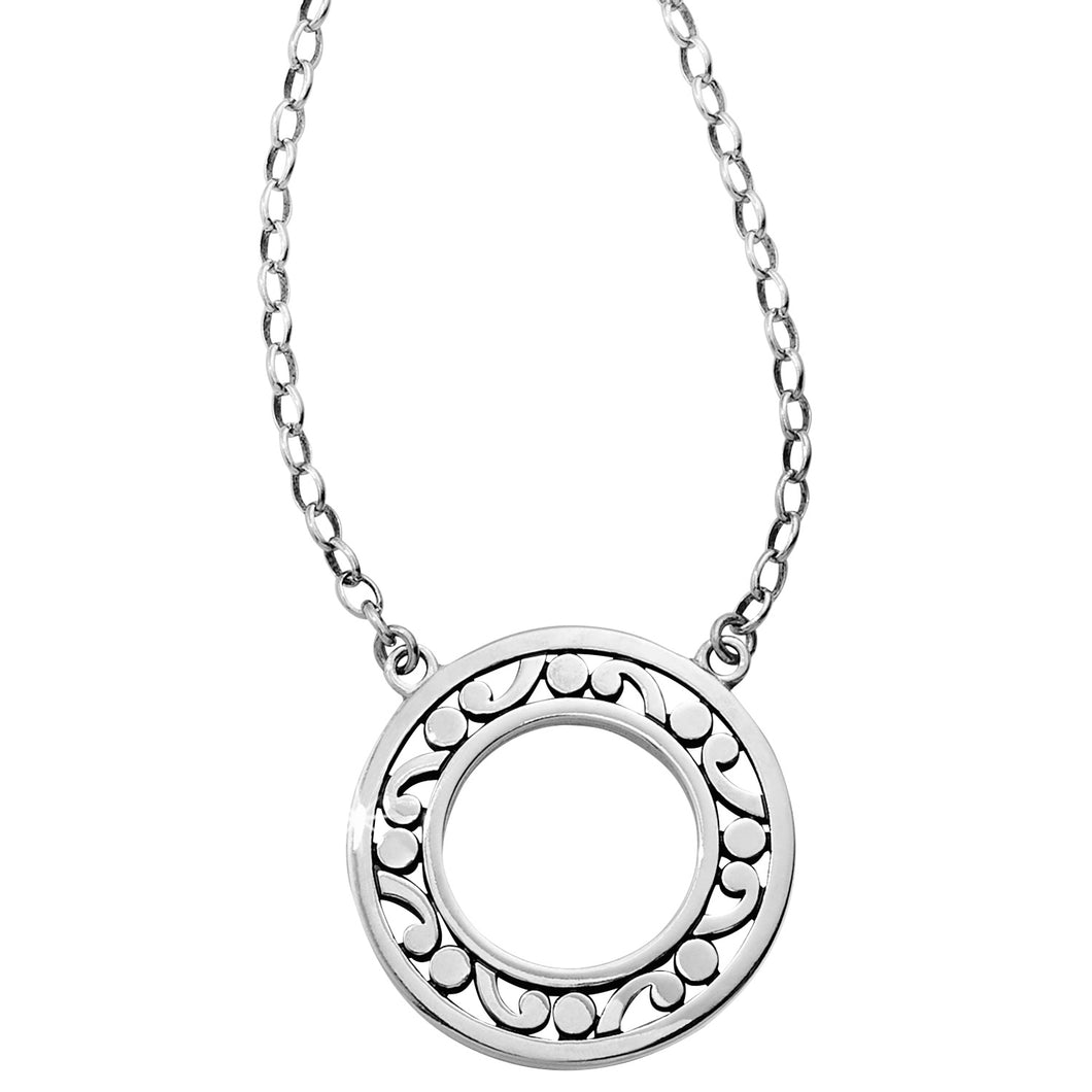 Contempo Open Ring Necklace