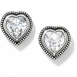 Ecstactic Heart Post Earrings