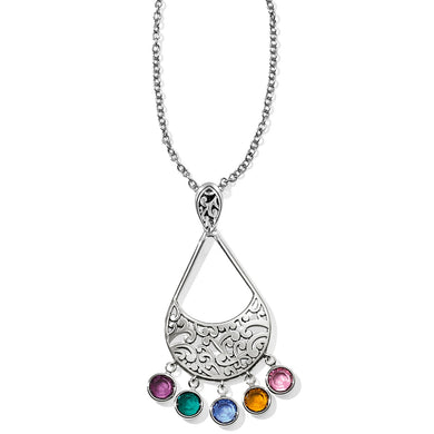 Elora Gems Drops Necklace