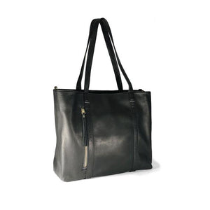 Payton Leather Tote Bag