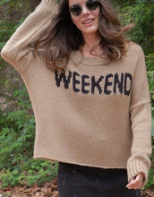 Load image into Gallery viewer, Weekend Slouchy Pullover
