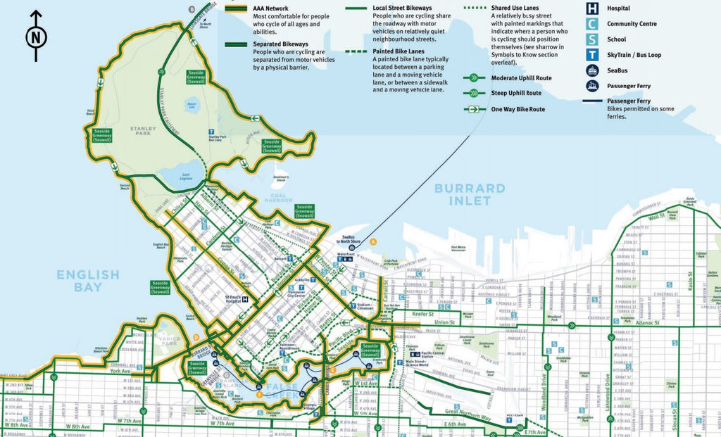 Picture of Vancouver's Bike Paths