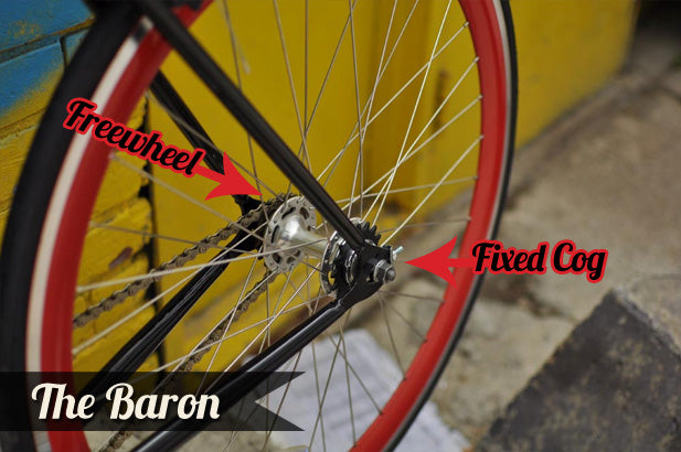 Fixed Gear Cog versus Freewheel