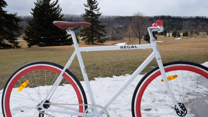 Regal Bicycles Winter Cycling