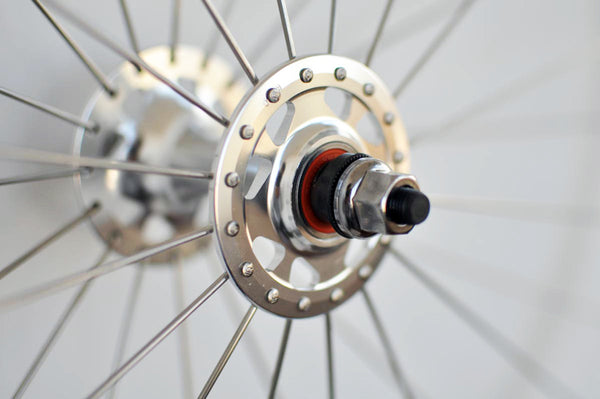 White Velocity Deep V Rims