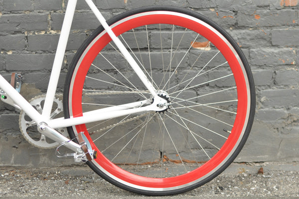 Red Wheelset Incl Tires