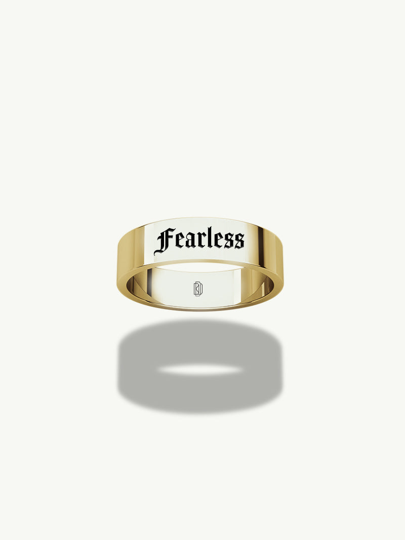 Nomine 5mm Flat Band in Yellow Gold