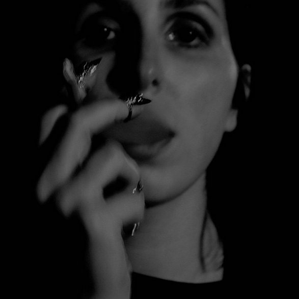 Chelsea Wolfe in Diaboli Kill Jewelry