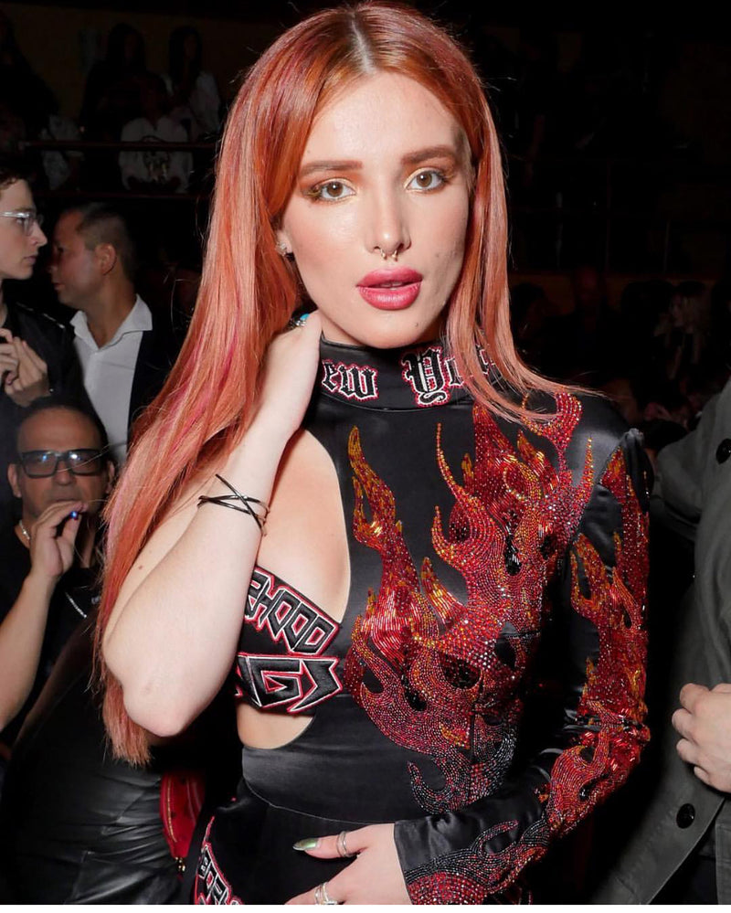 Bella Thorne in The Angie Marei Pythia Diamond Bracelet