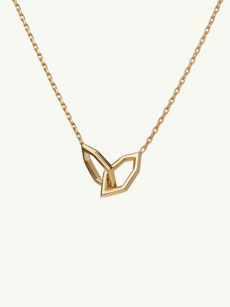 Amanti Chain-Linked Necklace In Yellow Gold