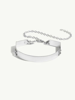 Roman Choker In Sterling Silver