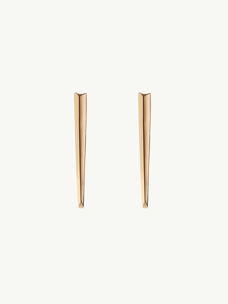 Lilith Dagger Earrings in 18K Yellow Gold