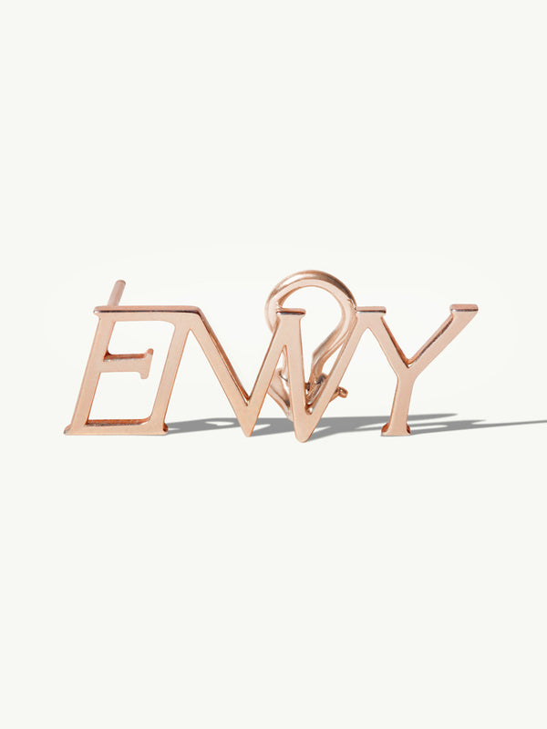 ENVY Ear Cuff Earrings In 18K Rose Gold