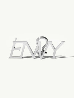 ENVY Ear Cuff Earring In 18K White Gold