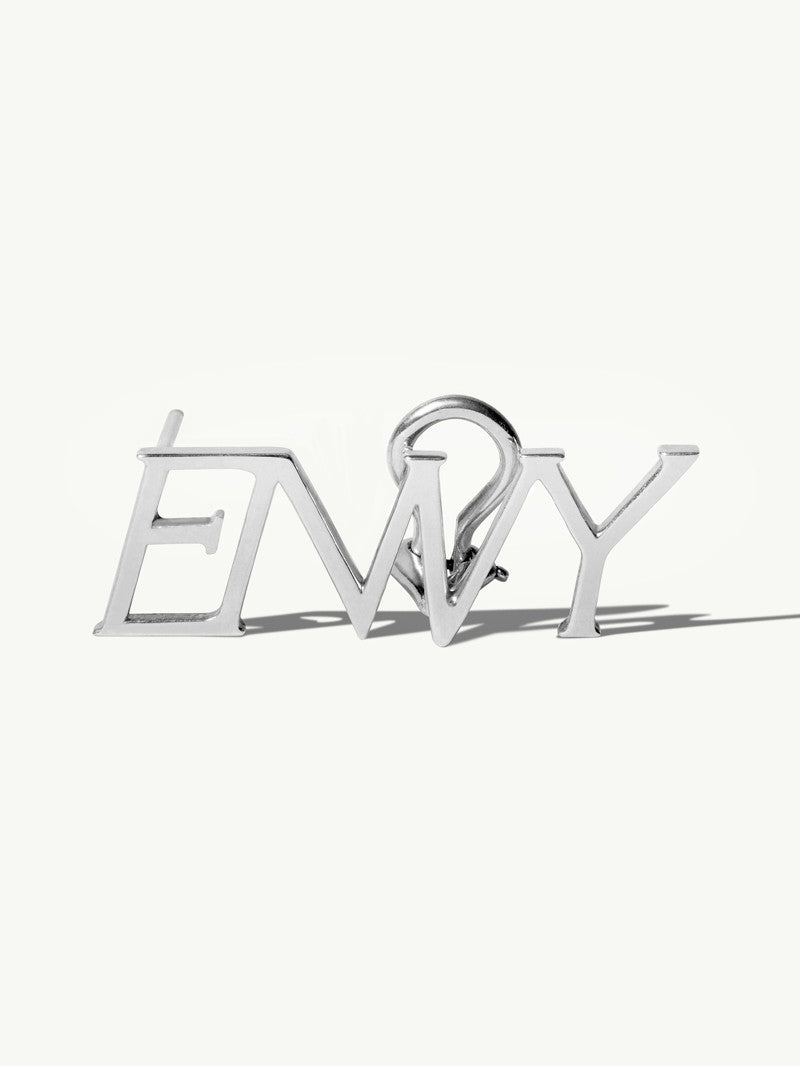 Envy 18K White Gold Ear Cuff