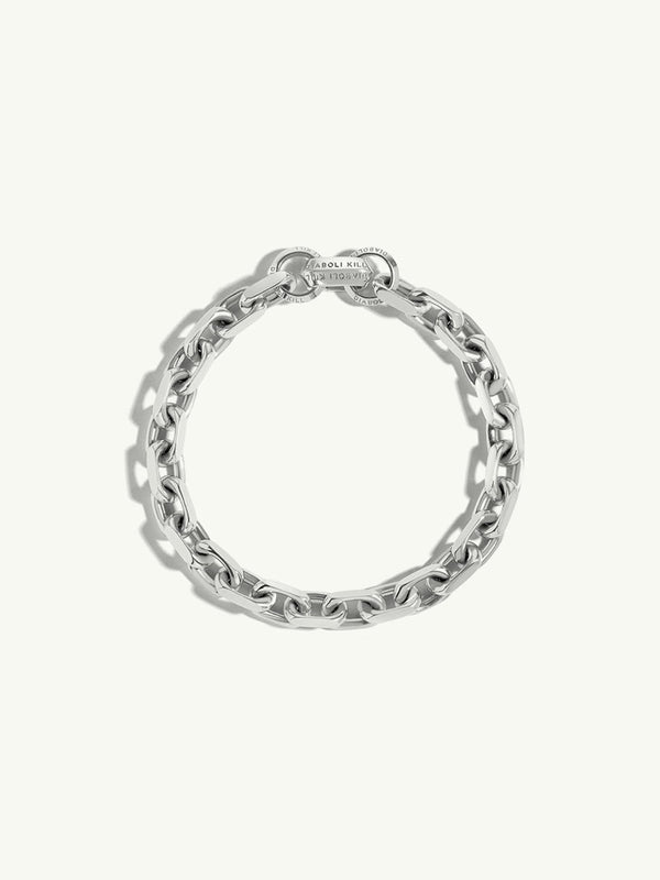 Catena XL Diamond Cut Cable Chain Bracelet in Sterling Silver