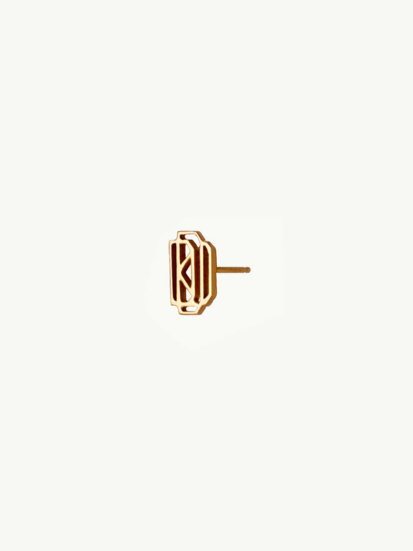 Diaboli Kill Monogram Single Stud Earring