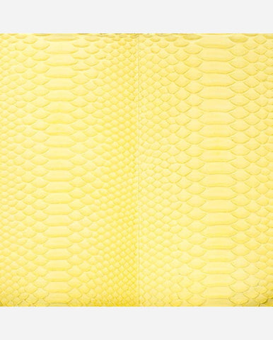 ANASTASIA PANEL <br />(for Taylor Clutch)<br /> Lemon Matte Python
