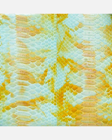 DOROTHY PANEL <br />(for Margot Day Bag)<br /> Seagrass/Sunflower Glazed Python